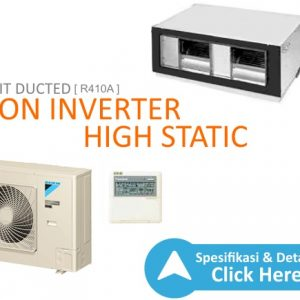 ac split duct daikin - high inverter