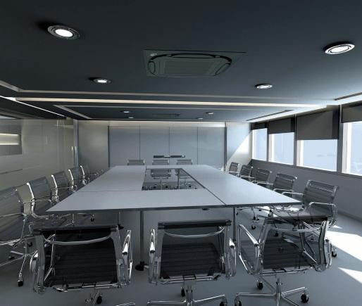 AC Cassette Daikin - Skyair r32 Black - Office - AC cocok ruang meeting - kantor