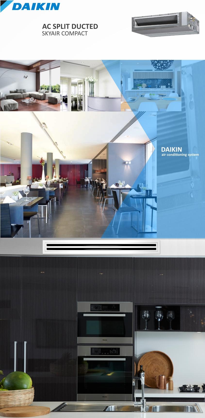 AC Split Duct Daikin - BANNER - pict install